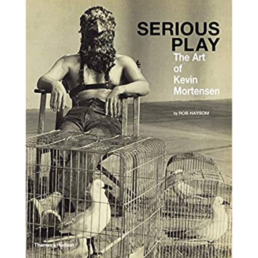 Book featuring cover art of Serious Play: The Art of Kevin Mortensen