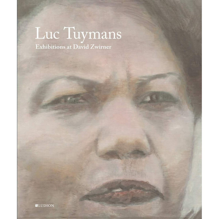 Book featuring cover art of Luc Tuymans: Exhibitions at David Zwirner