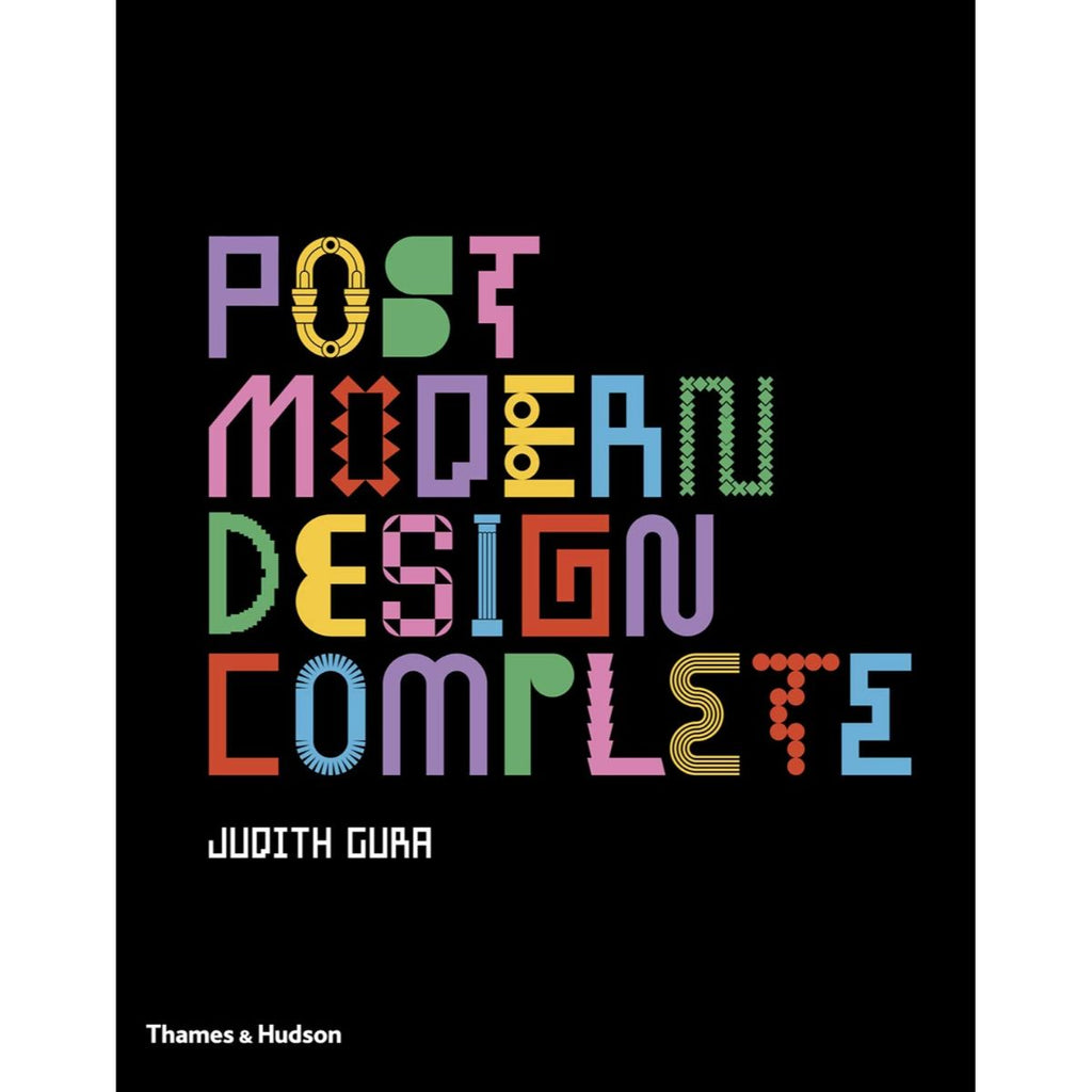 Book featuring cover art of Post Modern Design Complete