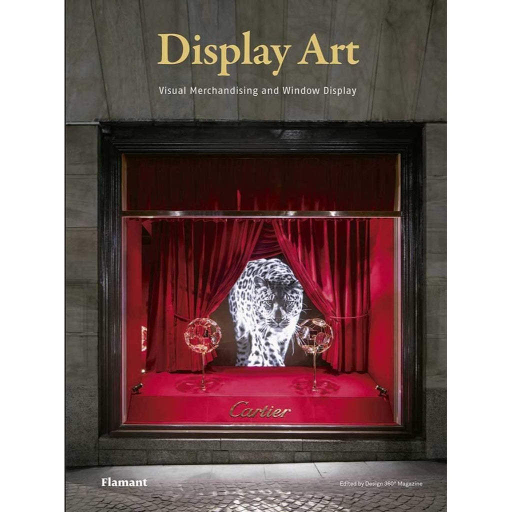 Book featuring cover art of Display Art: Visual Merchandising and Window Display