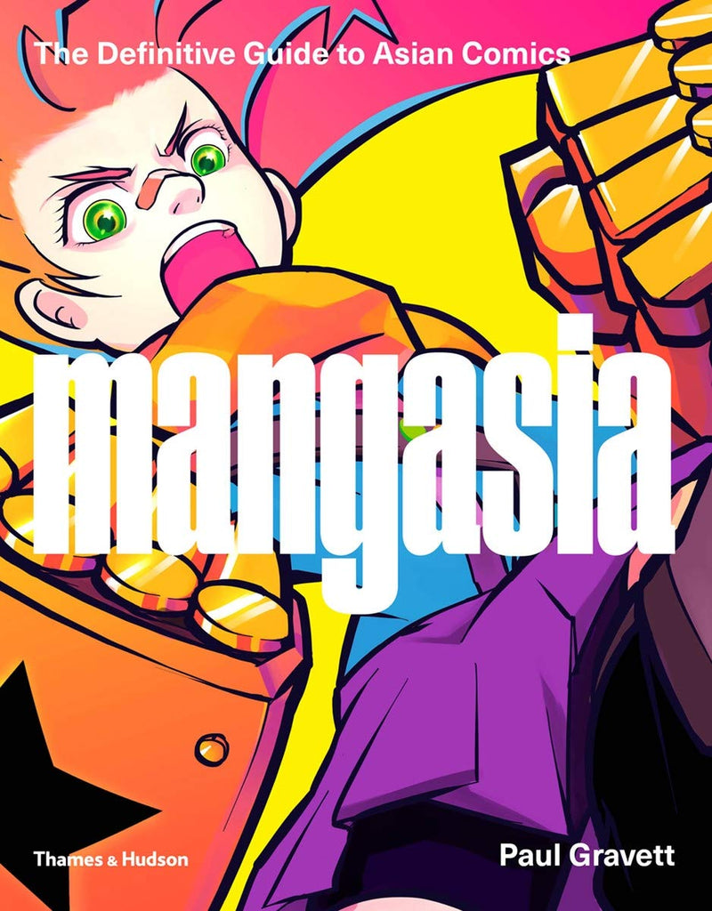 Book featuring cover art of Mangasia: The Definitive Guide to Asian Comics