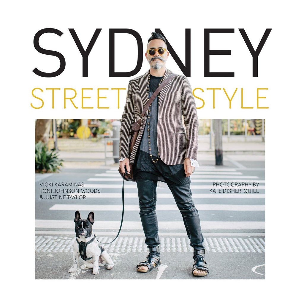 Book featuring cover art of Sydney Street Style