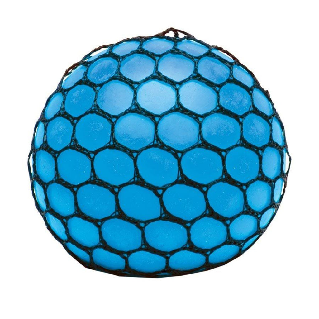 Image featuring a completed atomic slime brain ball in the colour blue