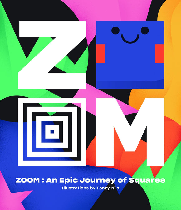 Book featuring cover art of Zoom: An Epic Journey Through Squares