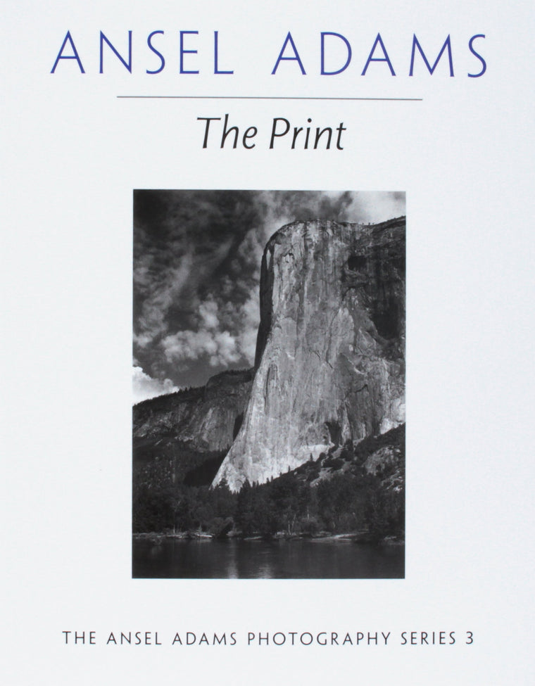 Book featuring cover art of Ansel Adams The Print