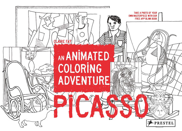 Picasso: An Animated Colouring Adventure | Author: Claire Faÿ