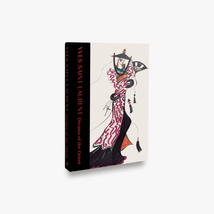 Book featuring cover art of Yves Saint-Laurent: Dreams of the Orient
