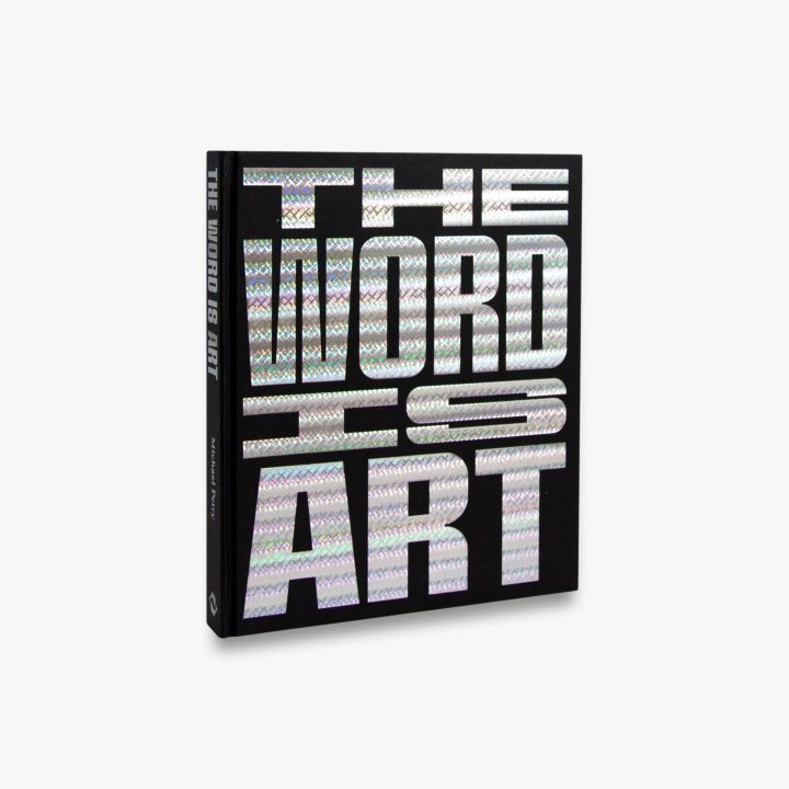 Book featuring cover art of The Word Is Art