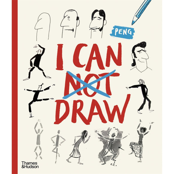 Activity book cover showing multiple illustrated figures and faces at various stages of drawing completion.