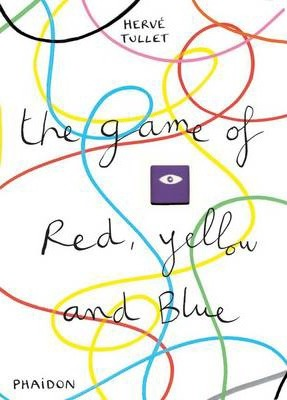 Book featuring cover art of The Game of Red, Yellow and Blue