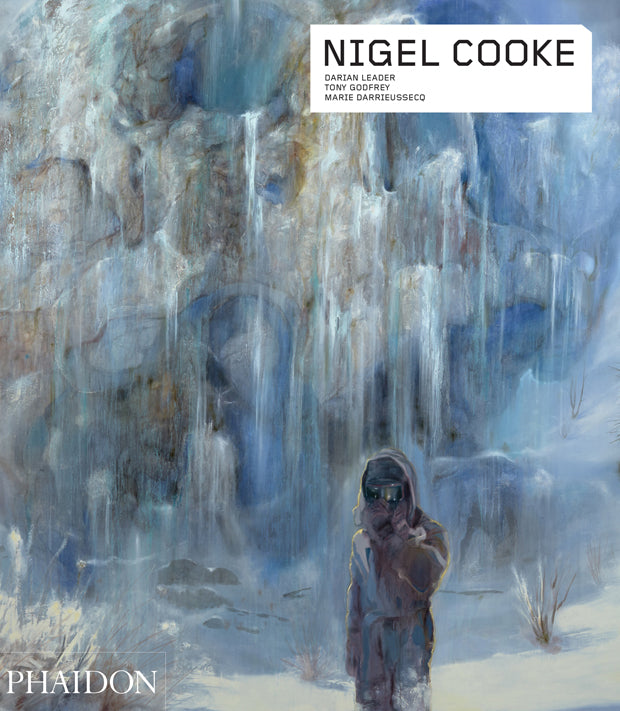 Book featuring cover art of Nigel Cooke