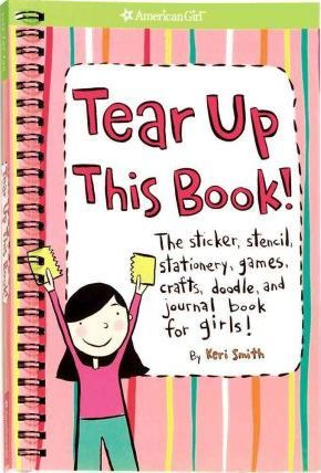 Book featuring cover art of Tear Up This Book!