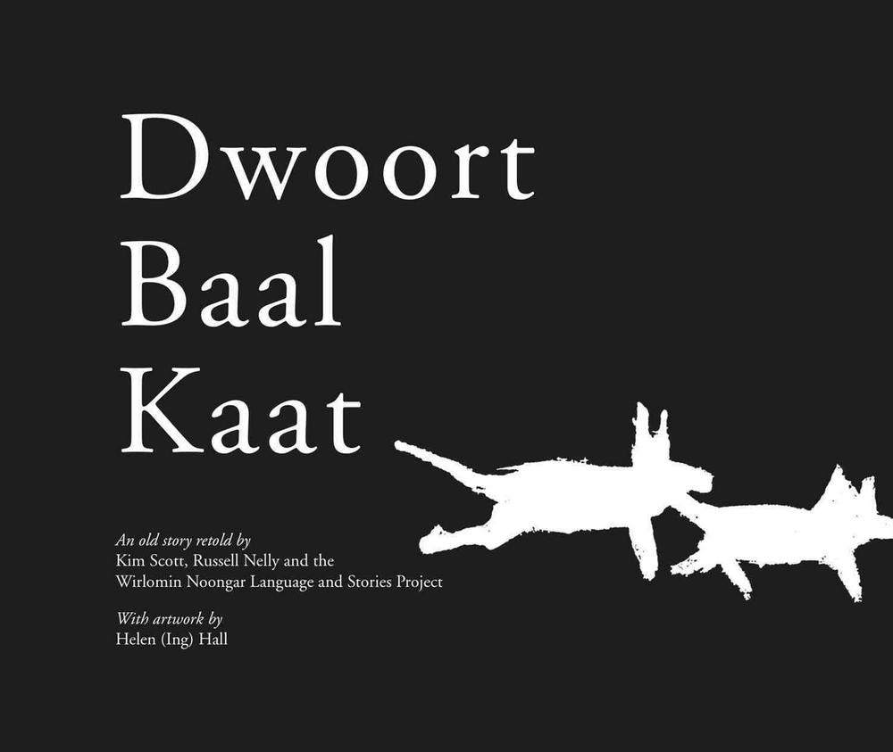 Book featuring cover art of Dwoort Baal Kaat