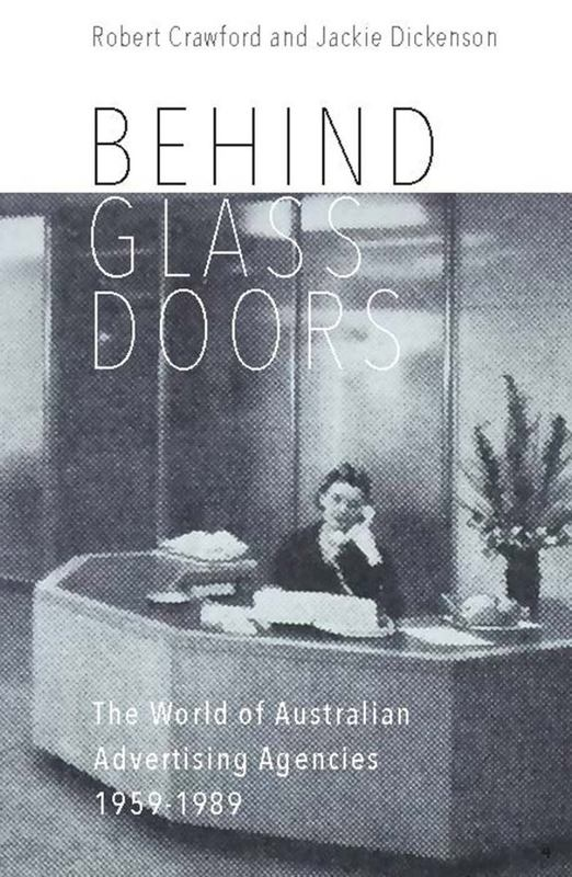 Book featuring cover art of Behind Glass Doors