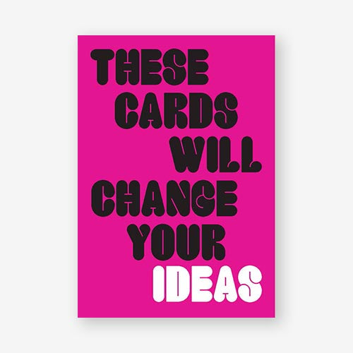 These Cards Wills Change Your Ideas