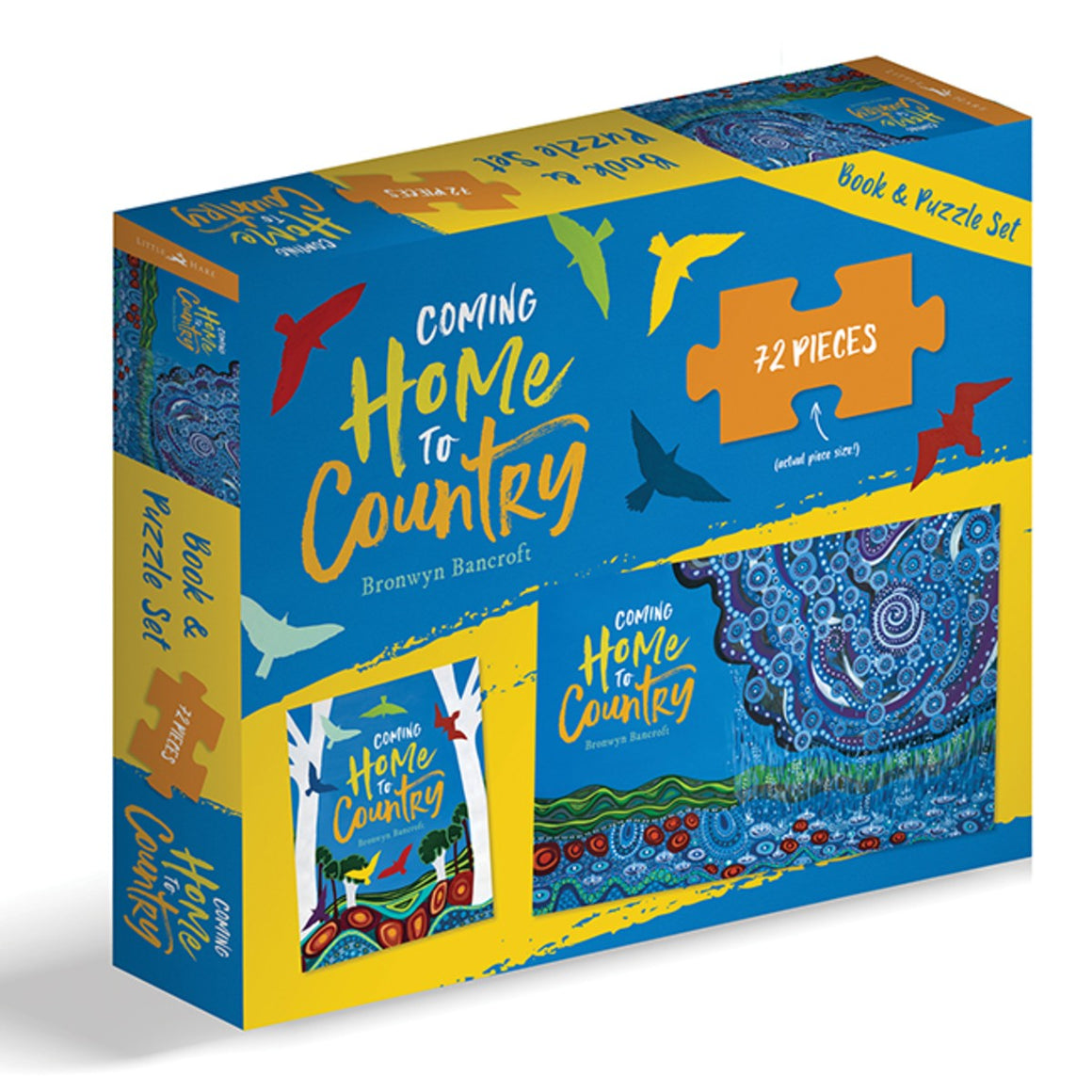 Coming Home To Country Book and Puzzle Set | Author: Bronwyn Bancroft