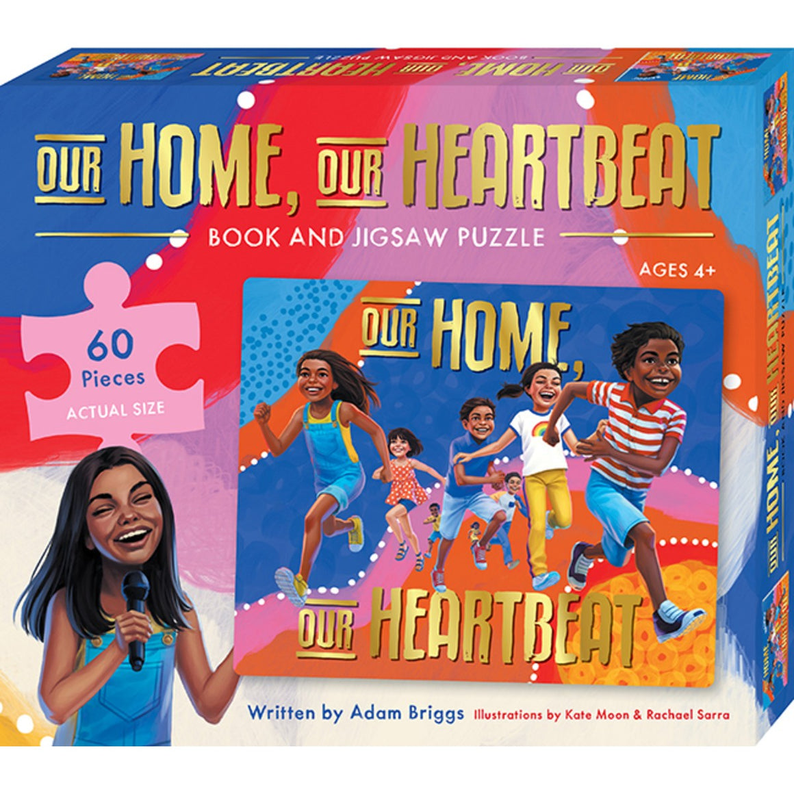 Our Home, Our Heartbeat Book and Puzzle Set | Author: Adam Briggs
