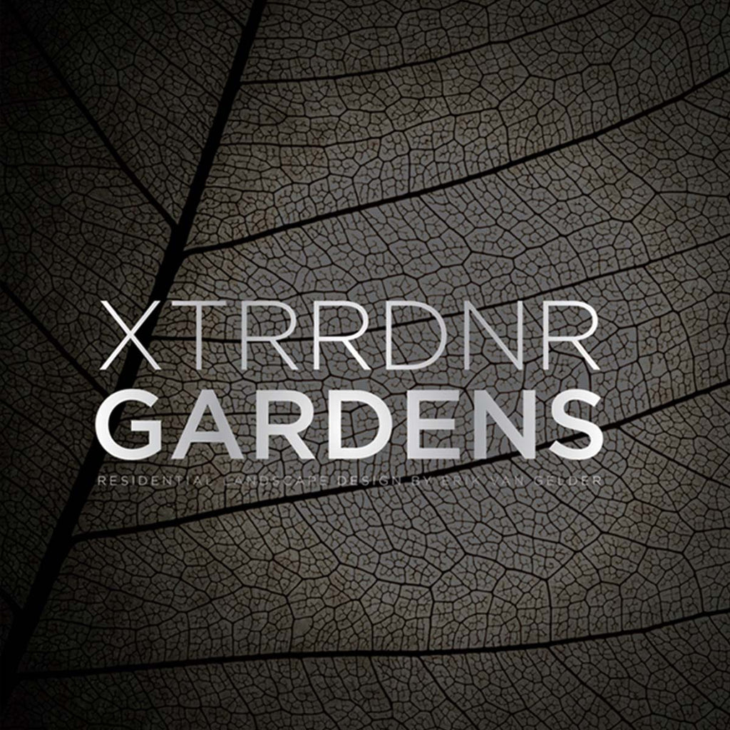 Book featuring cover art of Xtrdnrr Gardens: Residential Landscape Design