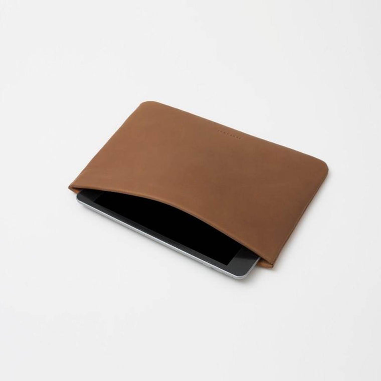 Tablet Case | Snap Softcase iPad Mini | Tan Leather
