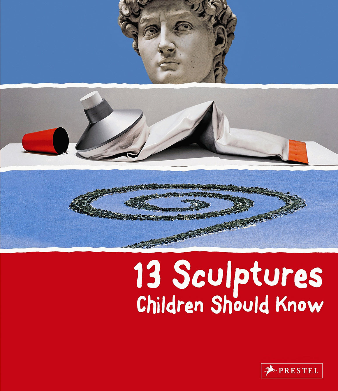 Book featuring cover art of 13 Sculptures Children Should Know