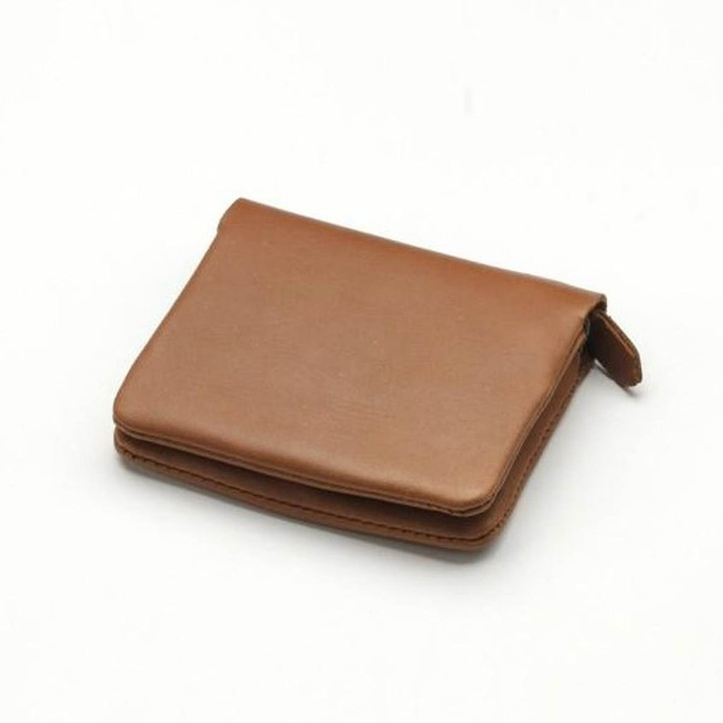 Wallet | Fold | Tan Leather | Small