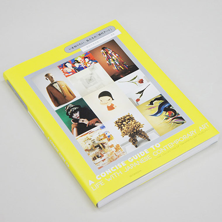 Book featuring cover art of A Concise Guide to Life with Japanese Contemporary Art Takamatsu Museum of Art