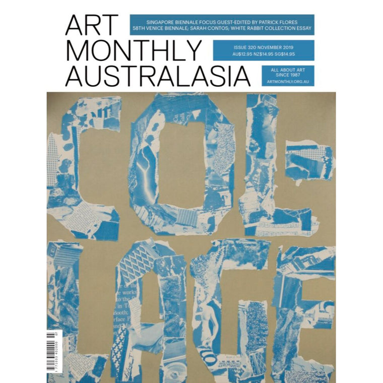 Magazine Cover featuring Issue 320 November 2019 Art Monthly Magazine