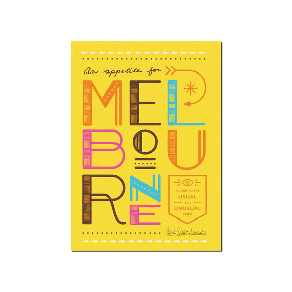 Appetite for Melbourne Guide to the Usual & Unusual