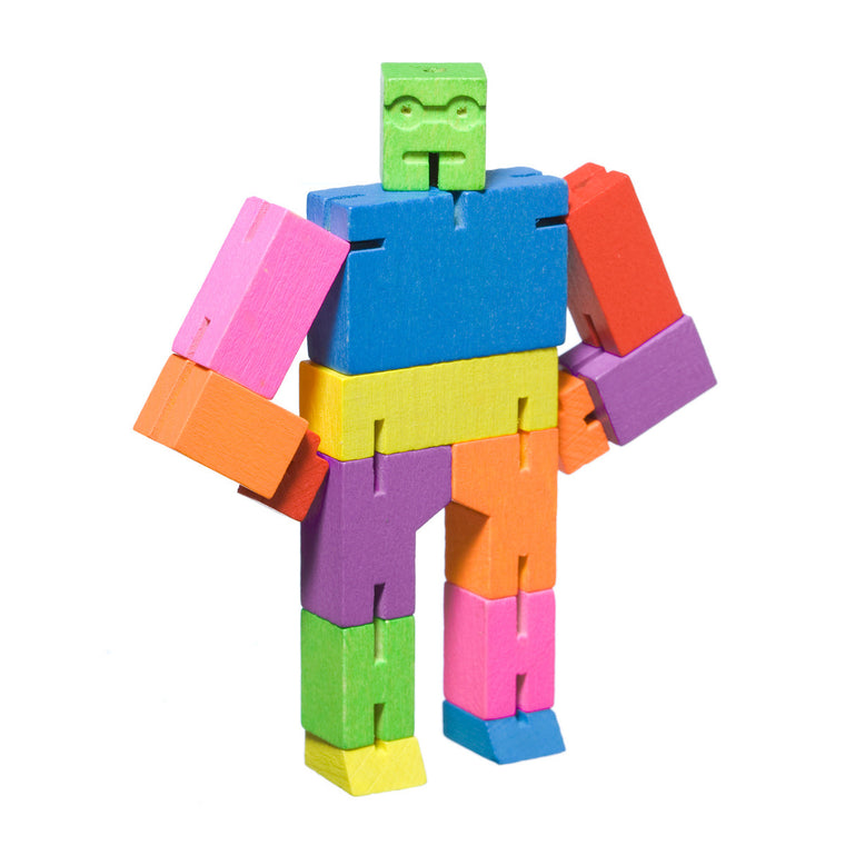 Cubebot Small Multicoloured