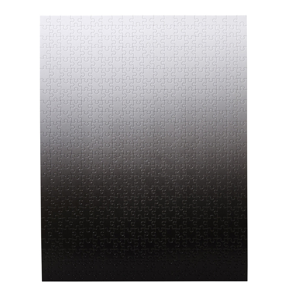 Gradient Puzzle Black White