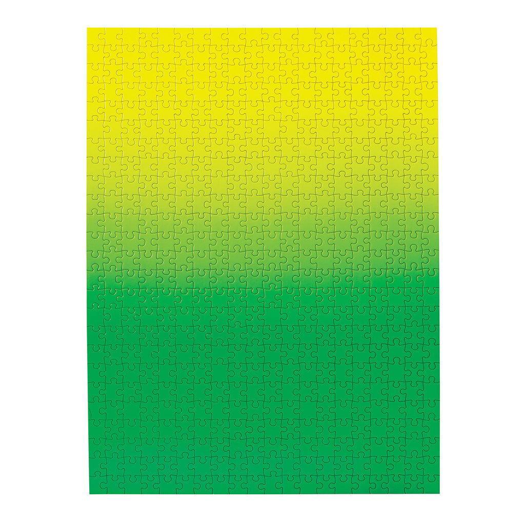 Gradient Puzzle Green Yellow