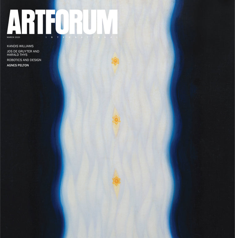Artforum Magazine | Vol58 | No07 | March 2020