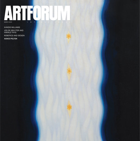Artforum Magazine March 2020 Vol 58 No 7