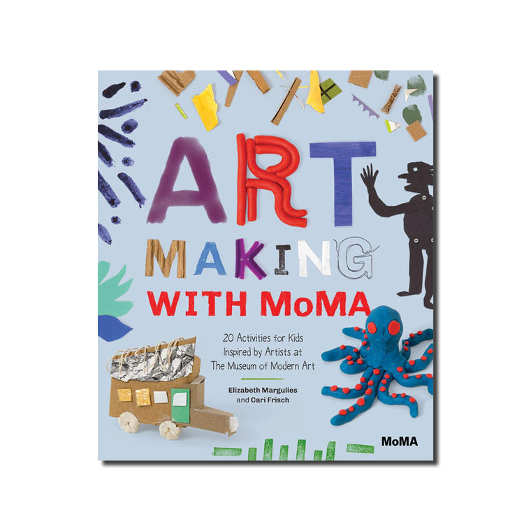 Art Making with MOMA: 20 Activities for Kids Inspired by Artists