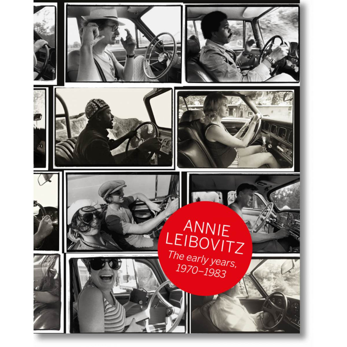 Book featuring cover art of Annie Leibovitz: the Early Years