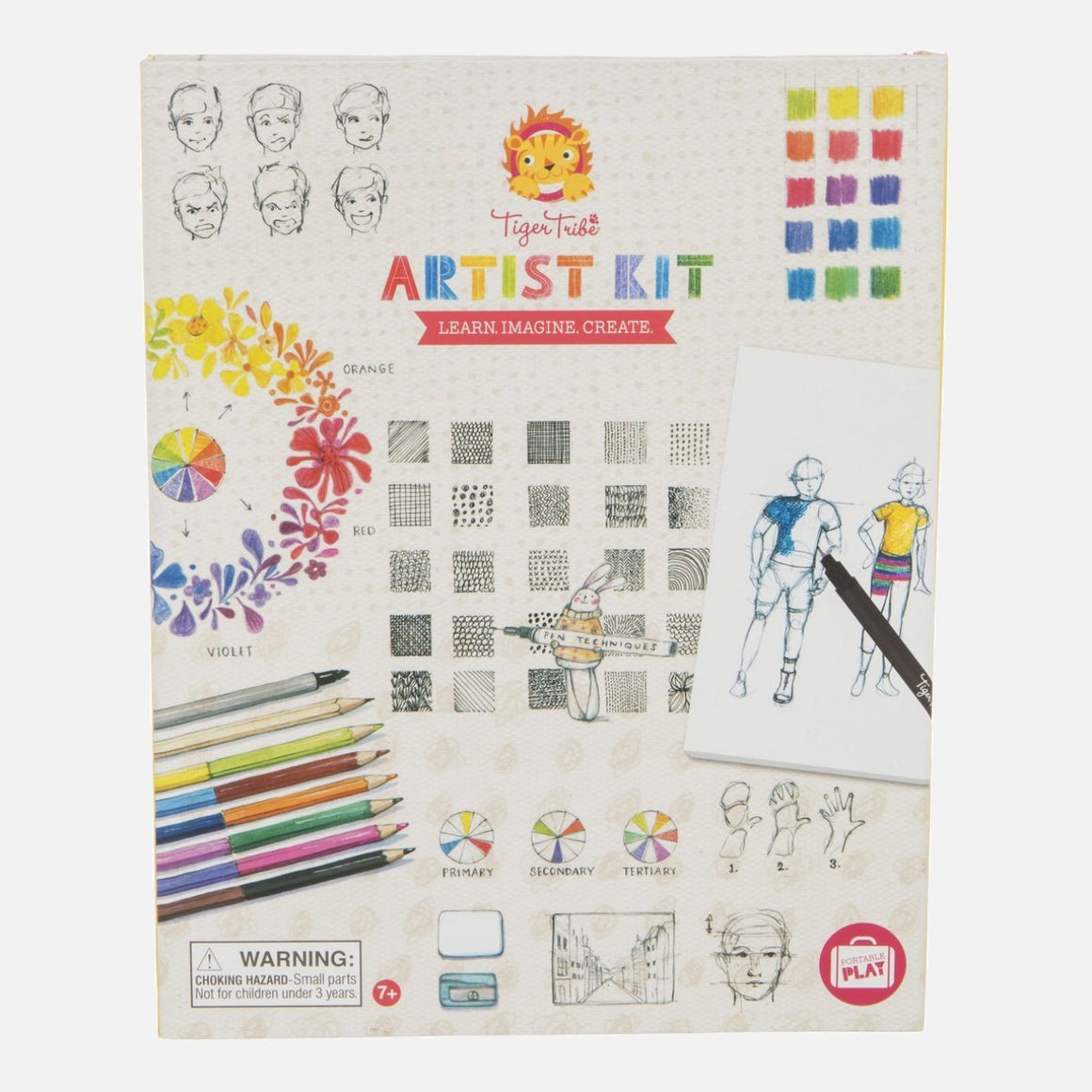Artist Activity Kit - Learn, Imagine, Create