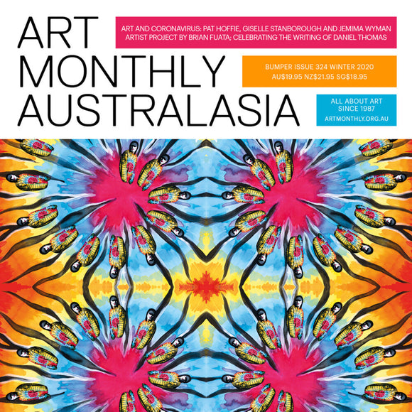 Magazine Cover featuring Issue 324 Art Monthly