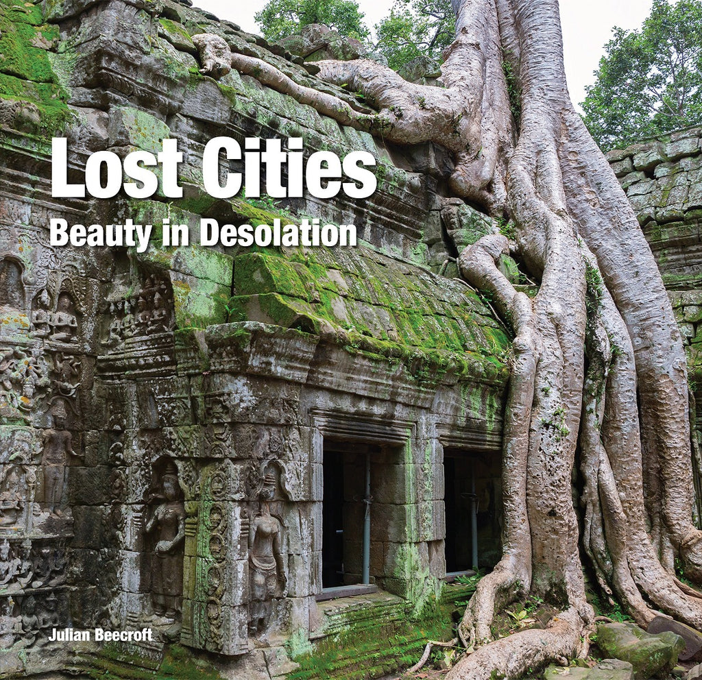 Book featuring cover art of Lost Cities: Beauty in Isolation