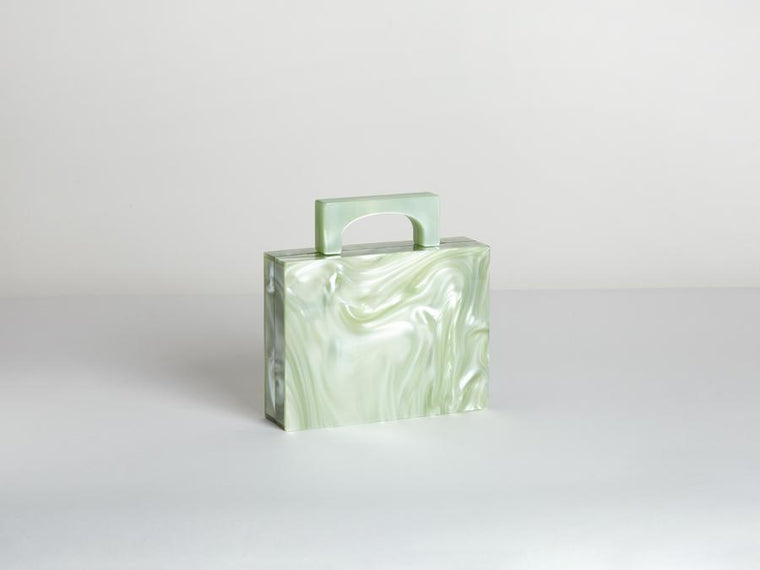 Bag | Alexa | Green | Resin