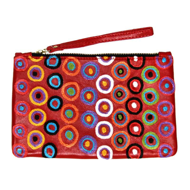 Bag Leather Clutch Daisybell Tjalumi Kylyuru