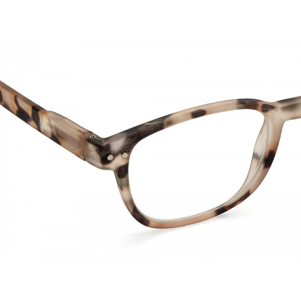 IZIPIZI Reading Glasses | Collection B | Light Tortoise Shell