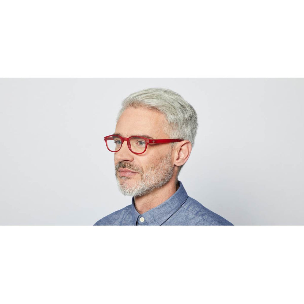 IZIPIZI Reading Glasses | Collection B | Red