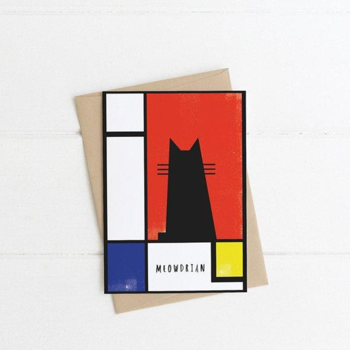 Card Meowdrian Cat