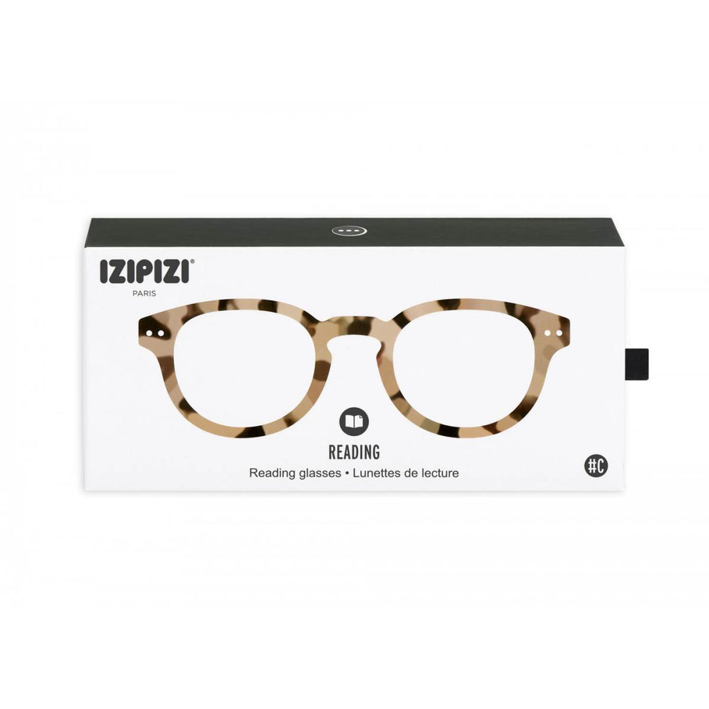 IZIPIZI Reading Glasses | Collection C | Light Tortoise Shell