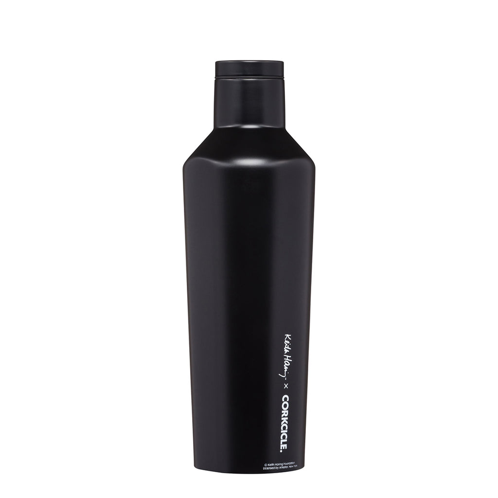 Water Bottle | Corkcicle | Keith Haring People Stack | Insulated | 475mL