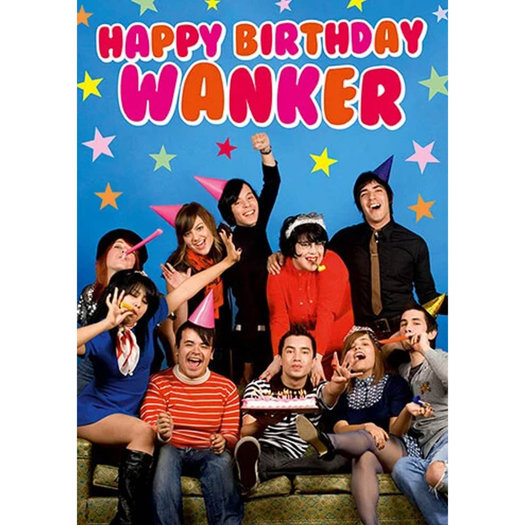 Greeting Card | Happy Birthday Wanker
