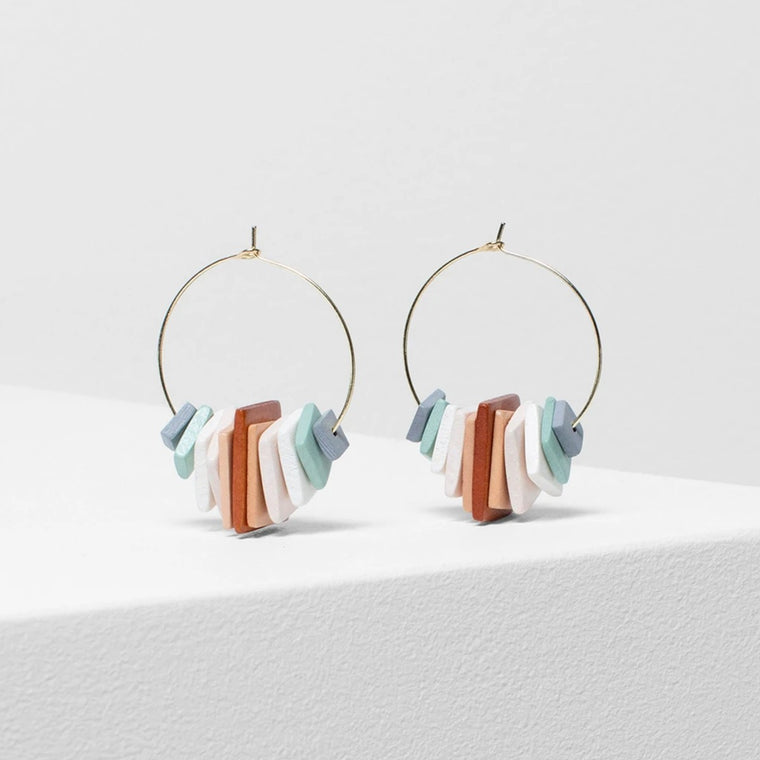 Earrings | Caren | multicoloured