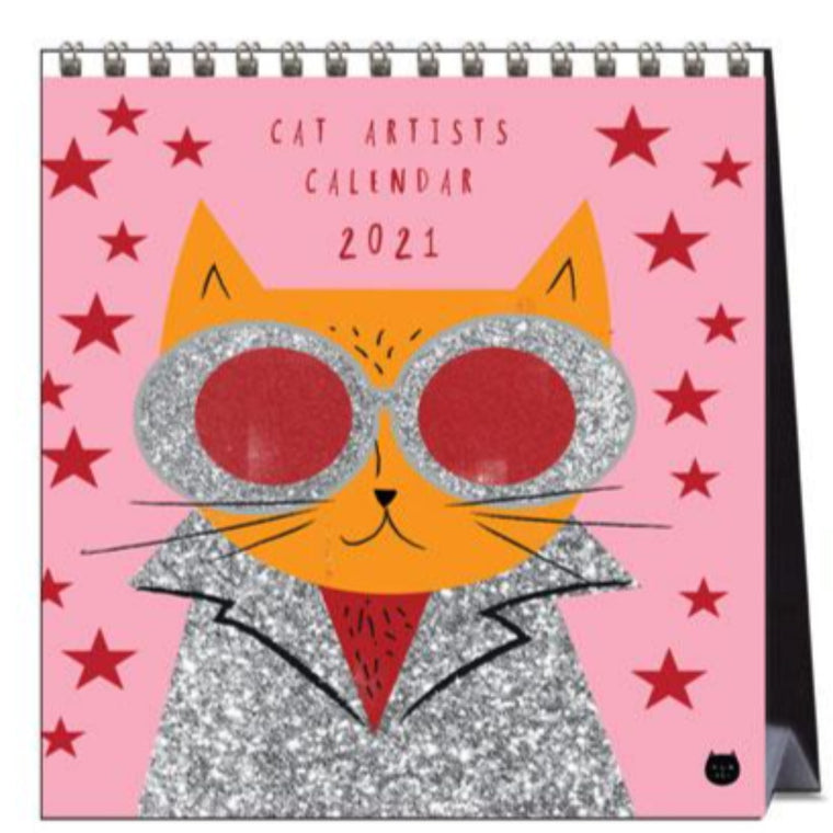 2021 Desk Calendar | Cat Artists