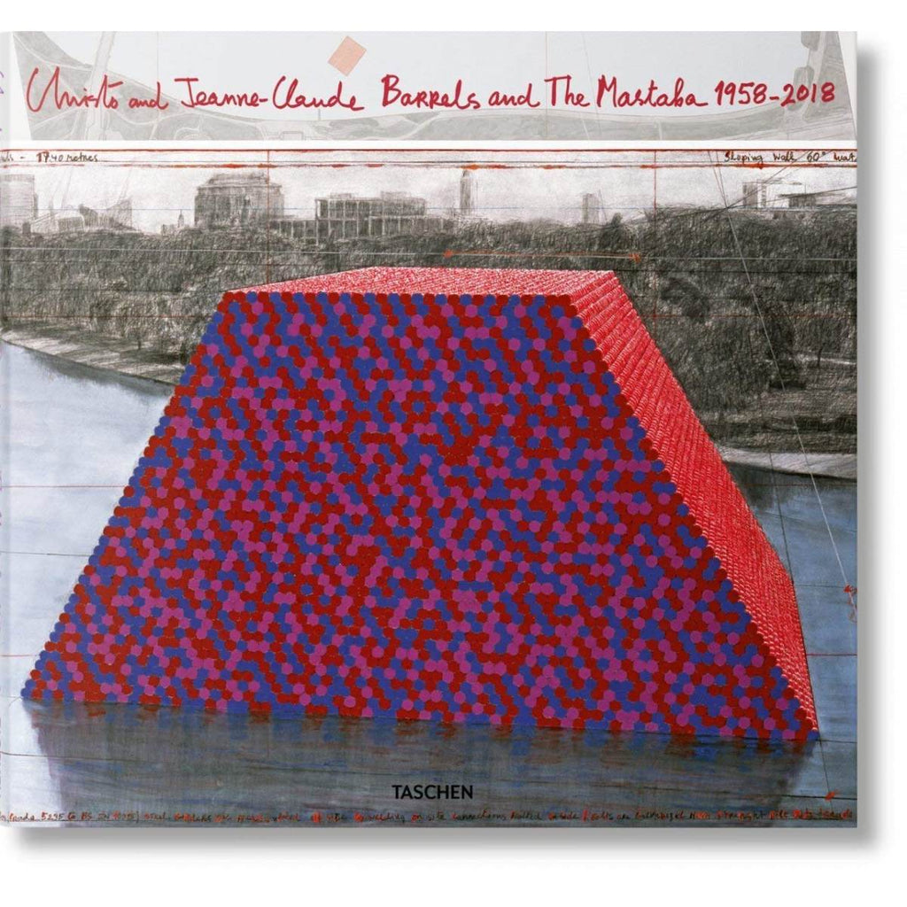 Christo and Jeanne-Claude. Barrels and The Mastaba 1958-2018 | Author: Paul Goldberger