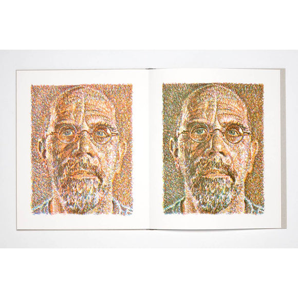 Chuck Close Scribble Book: Self Portrait | Author: Chuck Close